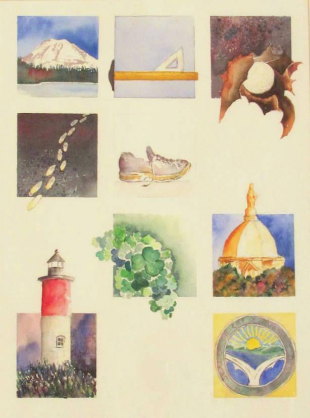 18 x 24 Symbols of the Artist
